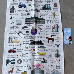 morpeth gift gallery hunter valley australian made rodriquez tea towel new south wales icons attractions red tractor designs