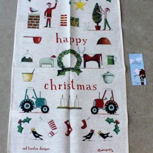 Teatowel – Happy Christmas