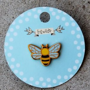 Erstwilder Enamel Pin – Harmonius Honey Bee