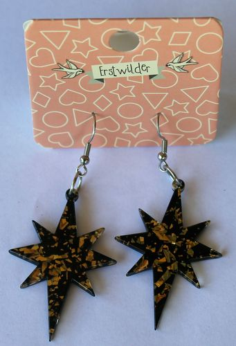 morpeth antique centre hunter valley erstwilder earrings brooch necklace starburst gold retro collectable pin up
