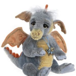 Morpeth Teddy Bears Charlie Bear plush Minimo mohair dragon Flame2020