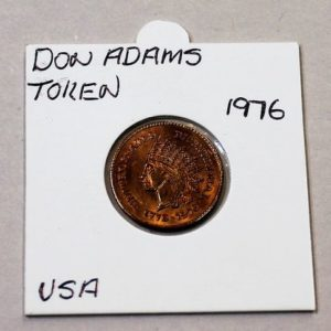 Don Adams USA Bicentennial Token