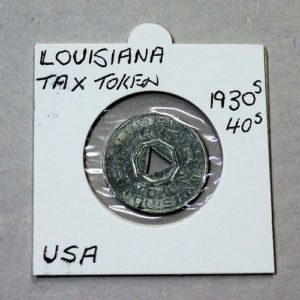Louisiana Luxury Tax Token – 1