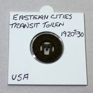 Eastern Cities Transit One Fare Token