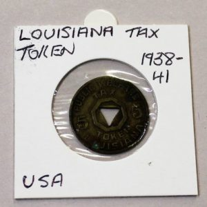 Louisiana Luxury Tax Token – 5