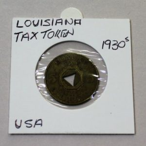 Louisiana Public Welfare Tax Token – 5