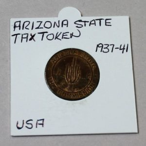 Arizona State Tax Token 5 Correct