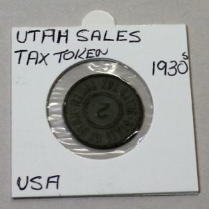 Utah Sales Tax Token – 2