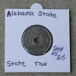 Alabama Luxury Sales Tax Token 1
