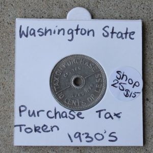 Washington Sales Tax Token
