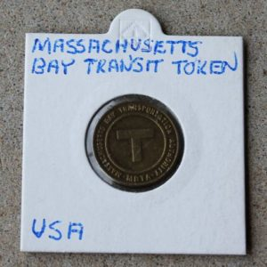 Massachusetts Bay Transit Token