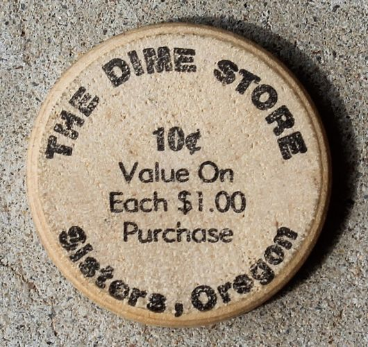 morpeth antiqe centre hunter valley shop 25 robinson ordinance coin token the dime store sisters oregon wooden trade token 10c wooden america commemorative state usa