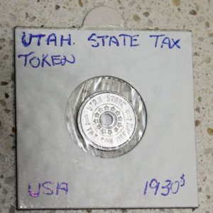 morpeth antiqe centre hunter valley shop 25 robinson ordinance coin token utah sales tax 1930 great depression state usa