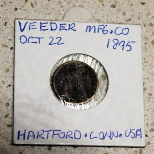 Veeder MFG & Co. Token