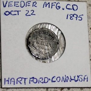 Veeder MFG. Co Token