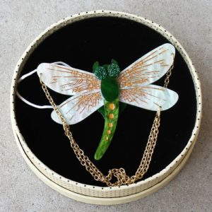 Erstwilder Brooch – As The Dragon Flies