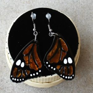 Erstwilder Earrings – Prince of Orange (Butterfly)