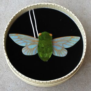 Erstwilder Brooch – The 17 Year Sleep (Cicada)
