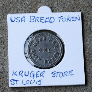 USA Bread Token, Kroger Store, St Louis