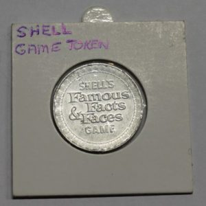 Shell Oil Company Game Token – Famous Facts & Faces