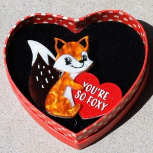 Erstwilder Brooch – You're So Foxy
