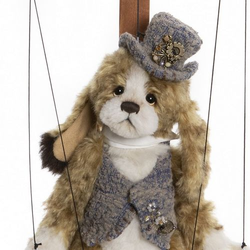 Morpeth Teddy Bears Isabelle Charlie Bear mohair 2020 Pantomime marionette