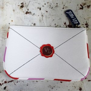 Vendula Post Box Envelope Zipper Coin Purse