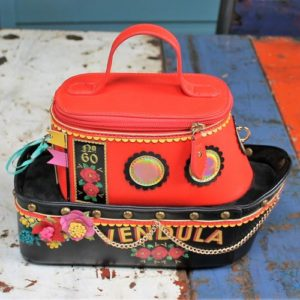 morpeth gift gallery hunter valley vendula london love boat red zip around grab bag coin purse pink wallet handbag collectable fashion accessory