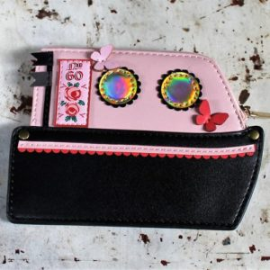 Vendula Love Boat Zipper Coin Purse Pink