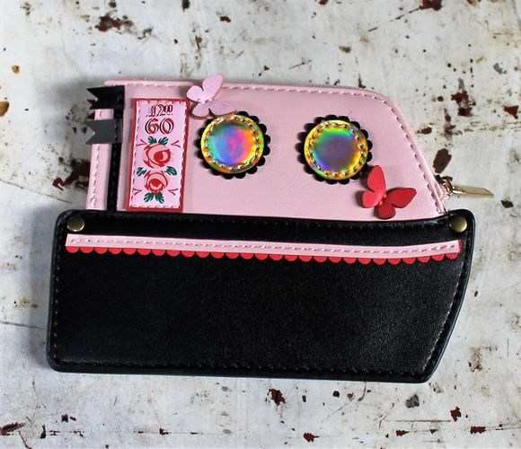 morpeth gift gallery hunter valley vendula london love boat red zipper around coin purse pink wallet handbag collectable fashion accessory