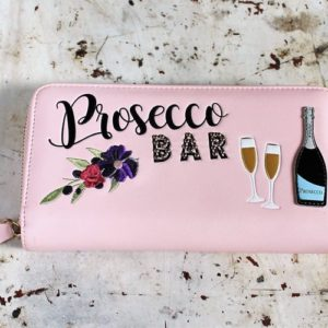 morpeth gift gallery hunter valley vendula london prosecco bar champagne bubbles spritz cocktail zip around coin purse pink wallet handbag collectable fashion accessory