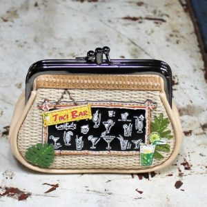 Vendula Tiki Bar Clipper Coin Purse