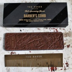 Ted Baker Barber's Comb and Sleeve