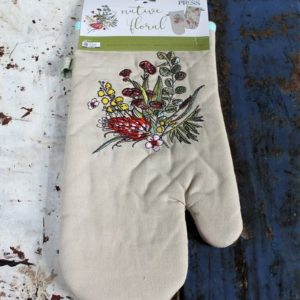 Australian Native Floral Single Oven Mitt