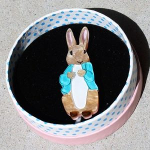 Erstwilder Brooch – Peter Rabbit