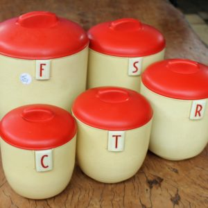 Duperite Kitchen Canister Set
