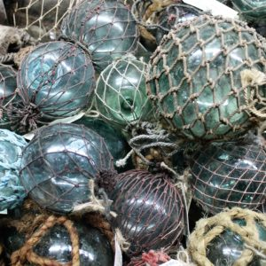 Fishing Floats with Fine Nets