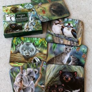 Coaster Set of Six – Australian Wildlife NJP