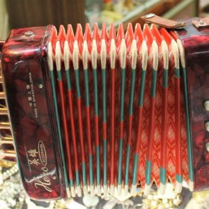 Vintage Accordion Toy