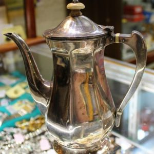 Art Deco Silver Tea or Coffee Pot