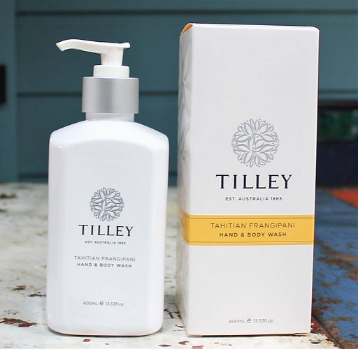 morpeth gift gallery hunter valley tilley tahitian frangipani hand nail body cream soap wash diffuser soy candle australian made natural