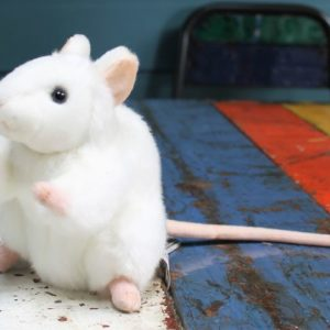 White Mouse by Hansa