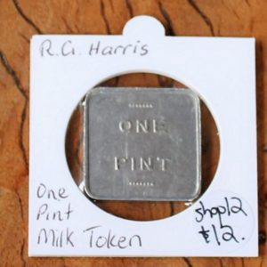 R.G Harris Milk Token