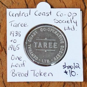 Central Coast Co-Op Bread Token
