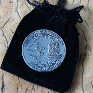 The 'Shelling of Newcastle' Medallion