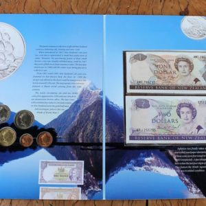 New Zealand Coin & Note Pack