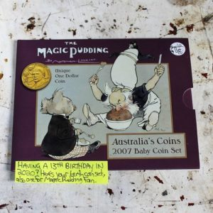 The Magic Pudding Coin Set – 2007