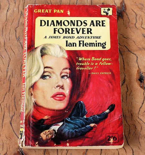 morpeth antique centre hunter valley ian fleming diamonds are forever book novel paperback soft cover first edition