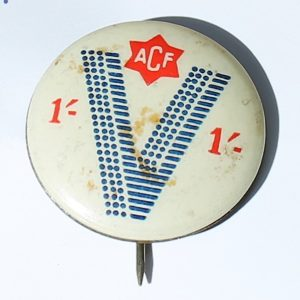 Australian Comforts Fund Badge