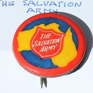 Australian Salvation Army Badge